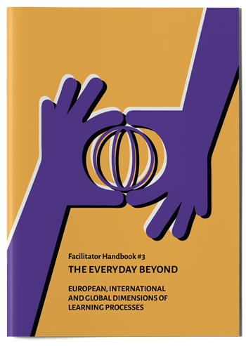 "Mockup photo of cover of the publication ""The Everyday Beyond"""